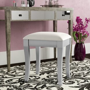 Online Reviews Johnny Vanity Stool by House of Hampton
