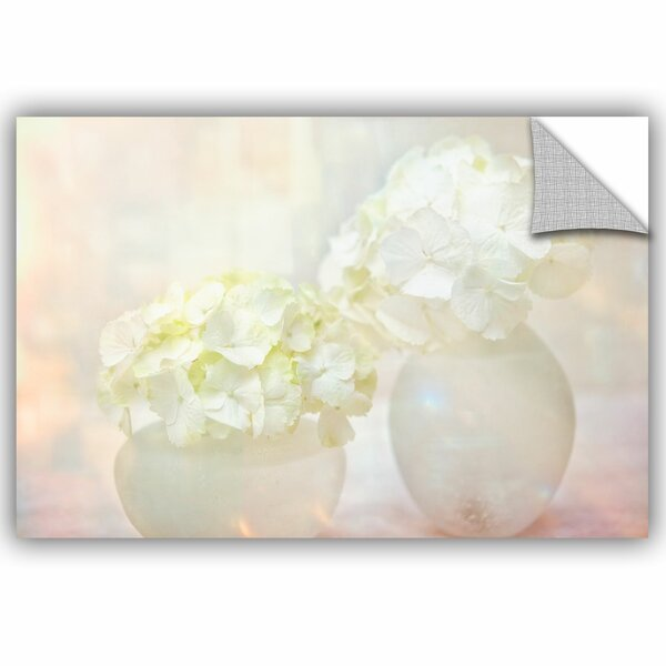 Hydrangea Removable Wall Decal by House of Hampton