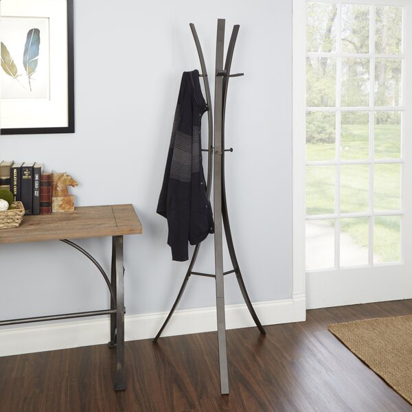 Bump Metal Tripod Standing Coat Rack by Ebern Designs