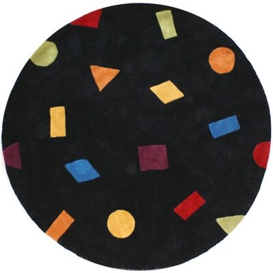 Bright Confetti Area Rug by American Home Rug Co.
