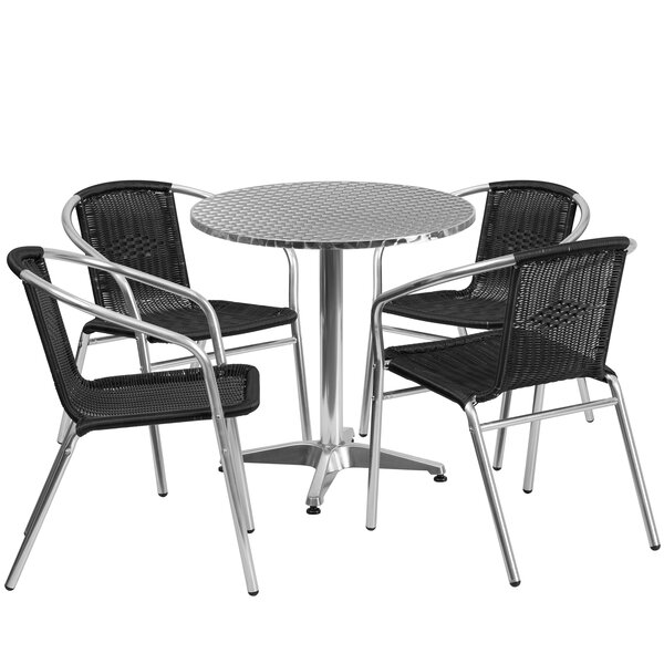 Akef 3 Piece Bistro Dining  Set by Red Barrel Studio