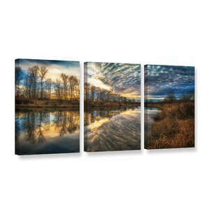 Angel Wings 3 Piece Photographic Print on Wrapped Canvas Set by Red Barrel Studio