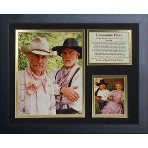 Lonesome Dove Framed Memorabilia by Legends Never Die