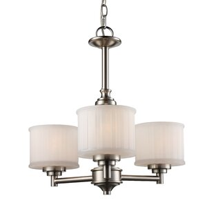 Wedgewood 3-Light Shaded Chandelier
