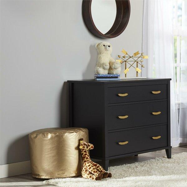 Monarch Hill Hawken 3 Drawer Dresser by Little Seeds