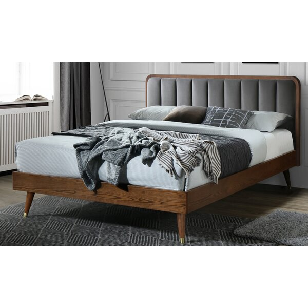 Collis Queen Upholstered Platform Bed by Corrigan Studio