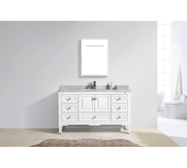 Aaliyah Fayer 60 Single Bathroom Vanity Set by Alcott Hill