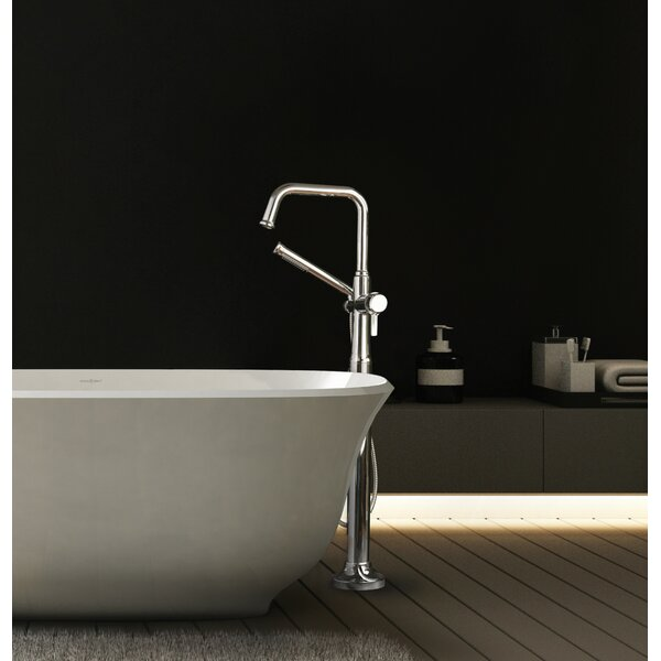 Momenti Single Handle Floor Mounted Clawfoot Tub Faucet Trim By Riobel