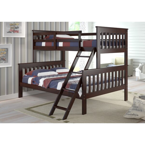 Rangel Twin Over Full Bunk Bed by Harriet Bee