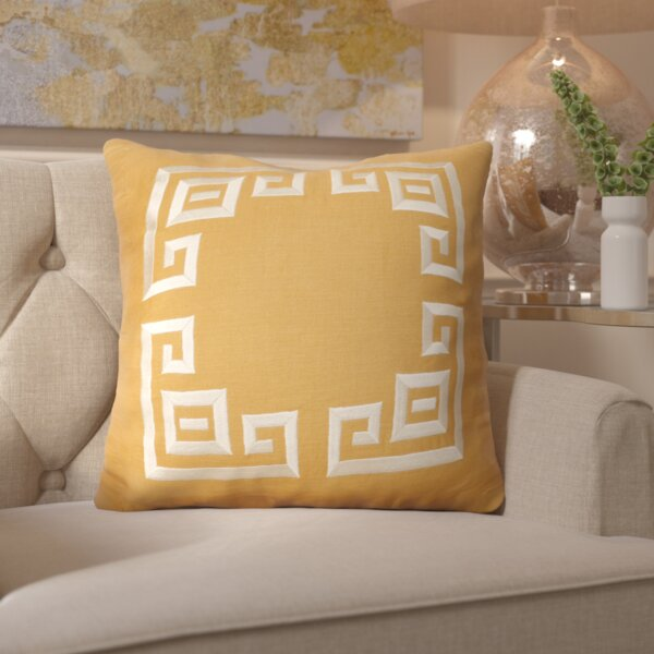 Chie and Linen Throw Pillow by Mercer41