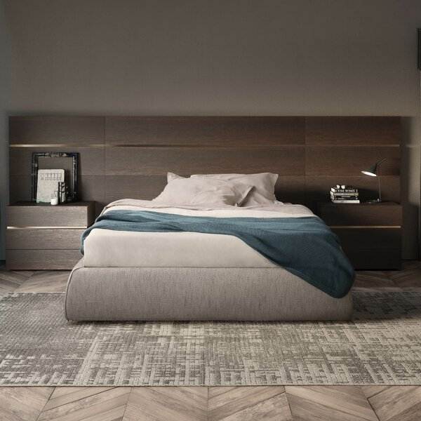 People Upholstered Platform Bed by Pianca USA