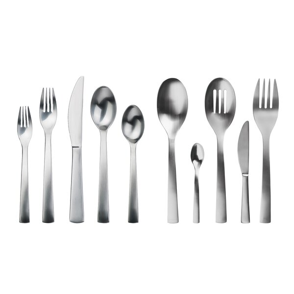 Carry On 45 Piece Flatware Set by Gourmet Settings