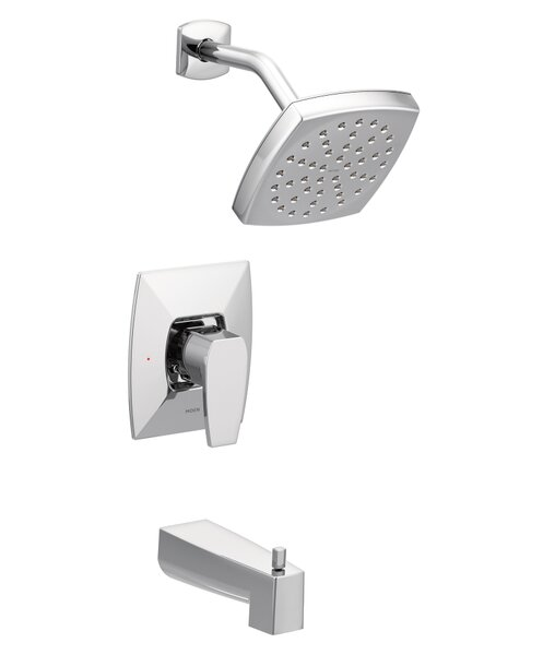 Via Single Handle Bath Shower Mixer by Moen
