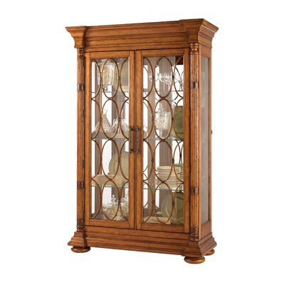 Tommy Bahama Estate Mariana Lighted Curio Cabinet China Cabinet