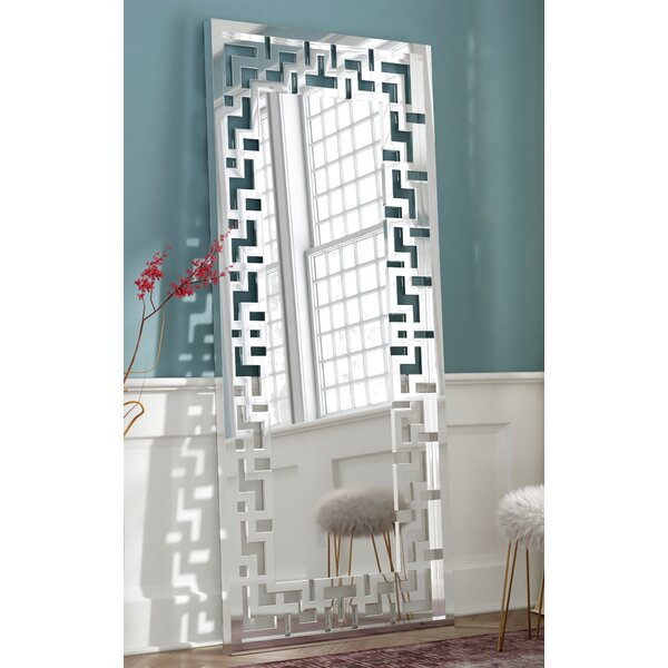 Rudra Leaner Floor Full Length Mirror by Willa Arlo Interiors