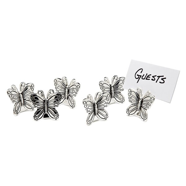 Butterfly Place Card Holders (Set of 6) by Birch Lane™