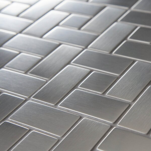 Metallic Tiles You\'ll Love | Wayfair