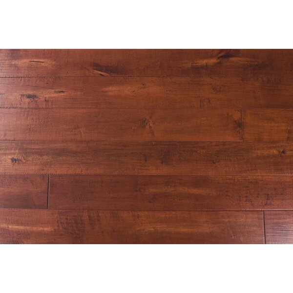 Fieldstone 7-1/2 Engineered Maple Hardwood Flooring in Rosa by Albero Valley