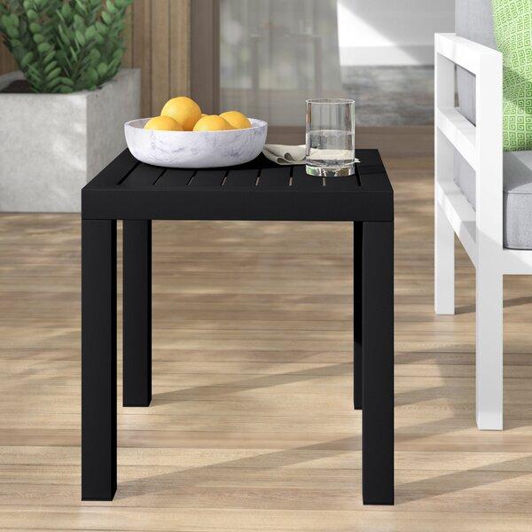 Villani Plastic Side Table By Mercury Row by Mercury Row No Copoun