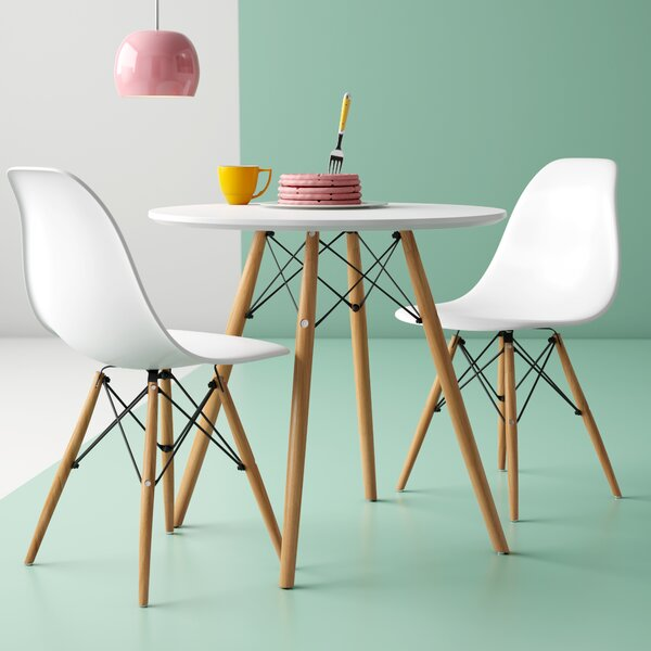 3 Piece Dining Set by Hashtag Home Hashtag Home