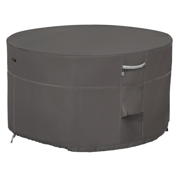 Elastic Fastener Fire Pit Cover by Freeport Park