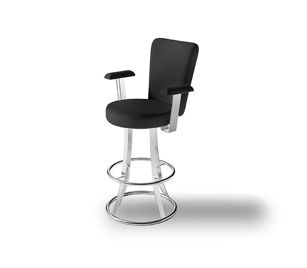 Zoup 30 Swivel Bar Stool by Createch