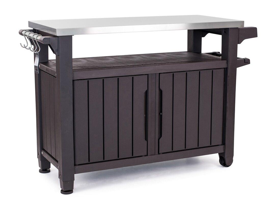 Andover Mills Cambron Caster Bar Serving Cart Amp Reviews