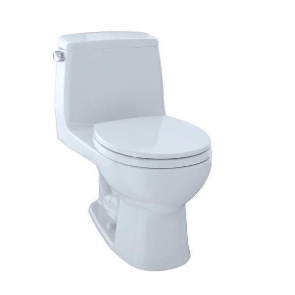 UltraMax Eco 1.28 GPF Round One-Piece Toilet by Toto