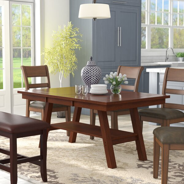 Jennerstown Traditional Dining Table by Charlton Home