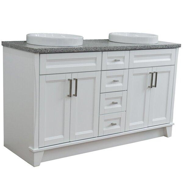 Cava 61'' Double Bathroom Vanity Set