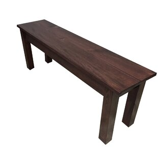 Reviews Negron Wood Bench By Loon Peak
