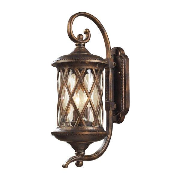 Whittington 2-Light Outdoor Wall Lantern by Fleur De Lis Living