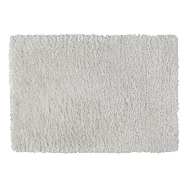 Yara Faux Sheepskin Ivory Area Rug by Exquisite Rugs