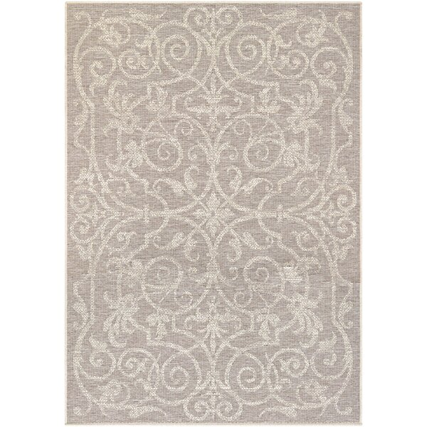 Peralez Cocoa/Natural Indoor/Outdoor Area Rug by Lark Manor