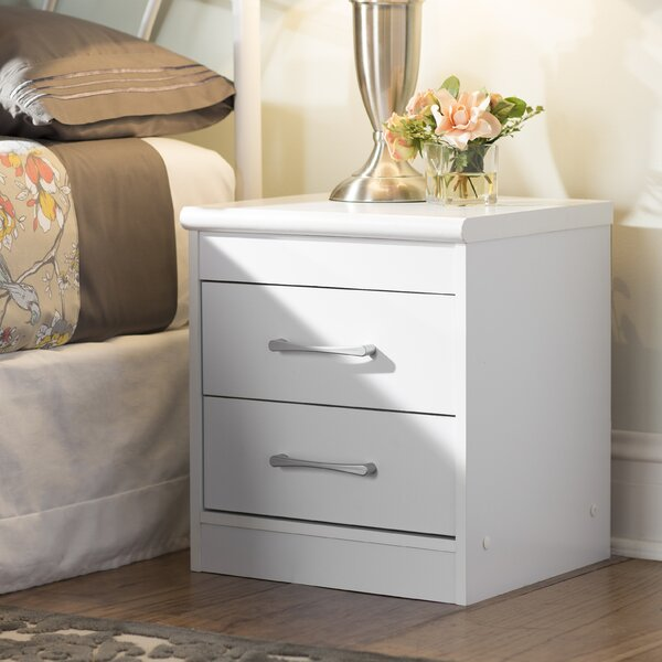 Hornby 2 Drawer Nightstand by Andover Mills