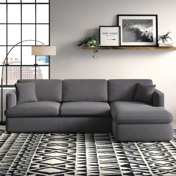 Cayden Reversible Sectional by Modern Rustic Interiors