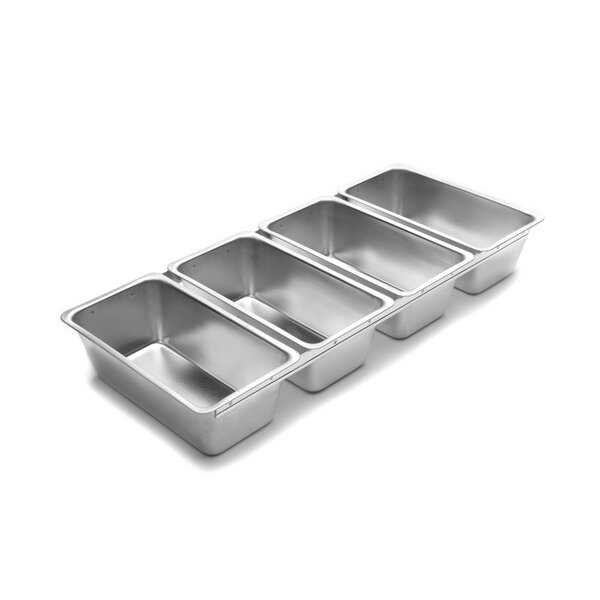 Linked Bread Pans (Set of 4) by Fox Run Brands