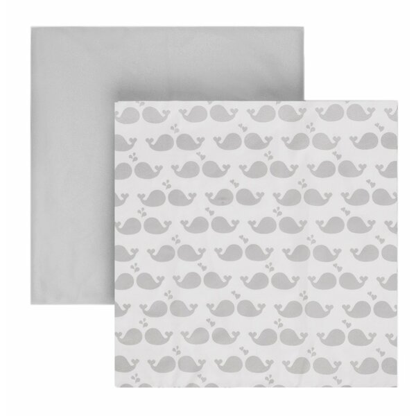 Microfiber Fitted Crib Sheets (Set of 2) by Tadpoles