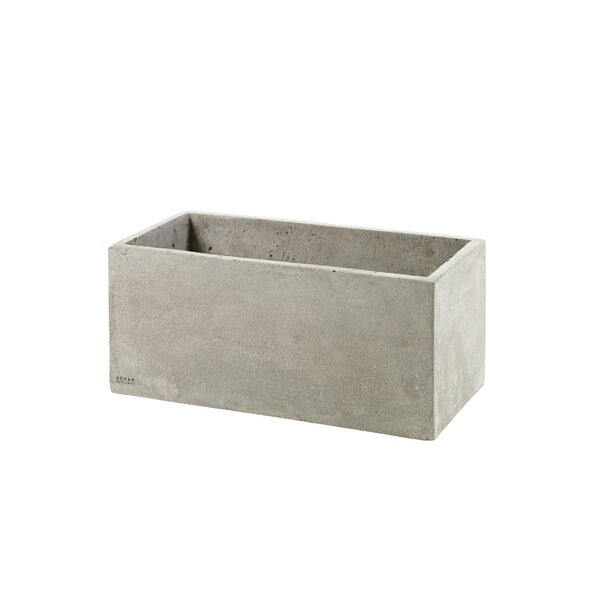 Church Street Rectangular Ceramic Planter Box with Holes by Williston Forge