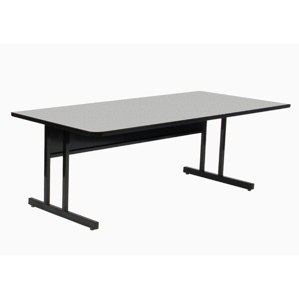 Training Table with Modesty Panel by Correll, Inc.