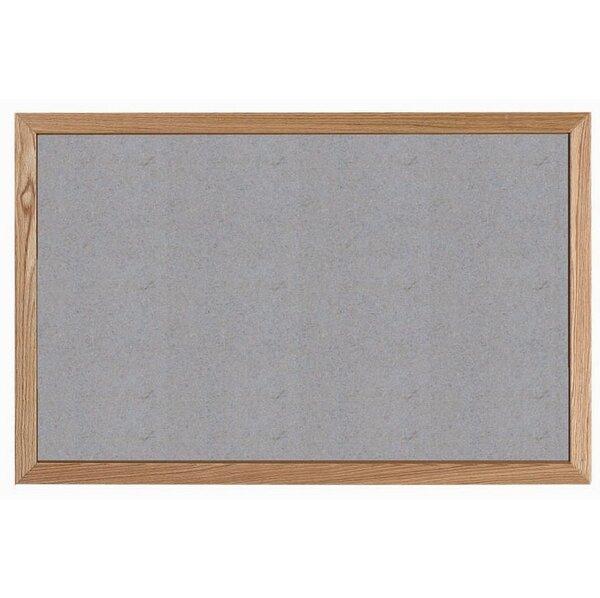 Wall Mounted Bulletin Board by AARCO