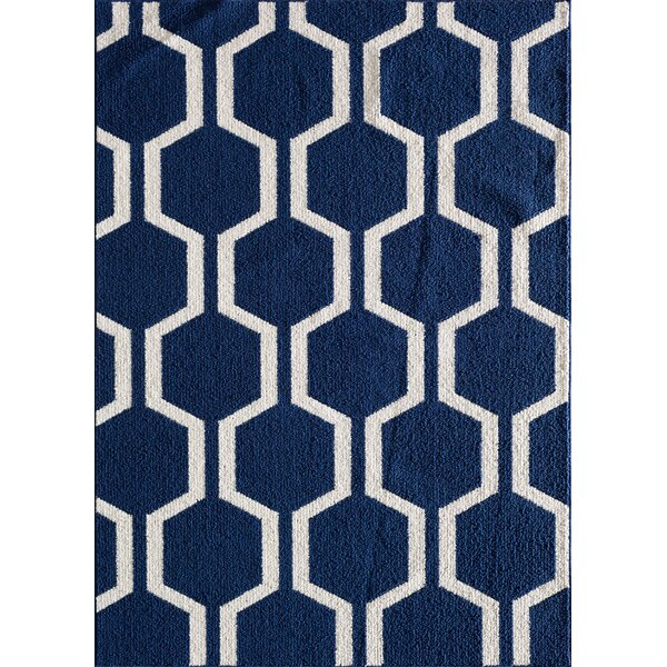 Myra Blue Area Rug by Zipcode Design