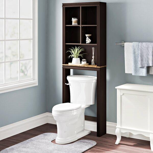 Milledgeville 23.307 W x 68.583 H x 7.402 D Over-The-Toilet Storage