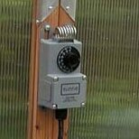 Greenhouse Cooling Thermostat by Sunshine Gardenhouse