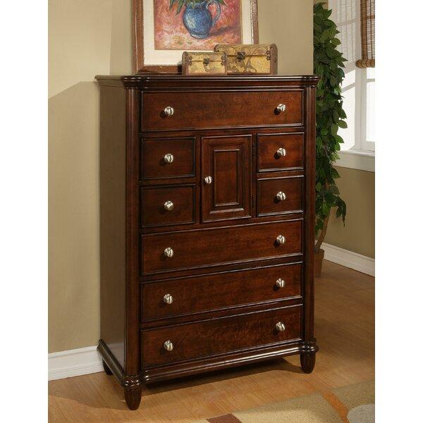 Bancroft Woods 8 Drawer Combo Dresser by Alcott Hill