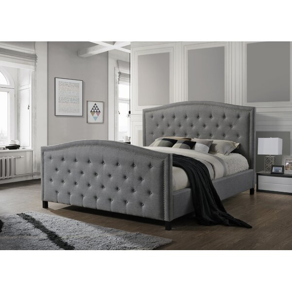 Camden Upholstered Standard Bed by LuXeo