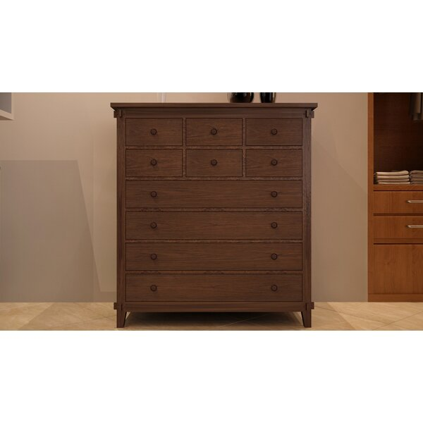 Cranleigh 10 Drawer Dresser by Loon Peak