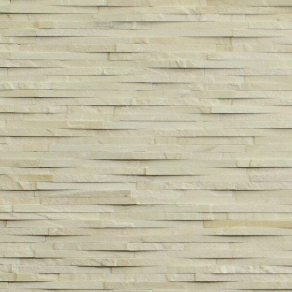 Cladding Stone Splitface Tile in Beige/Cream by Kellani