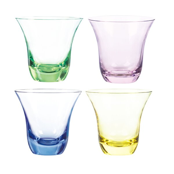 Aurora DOF Glass (Set of 4) by Qualia Glass