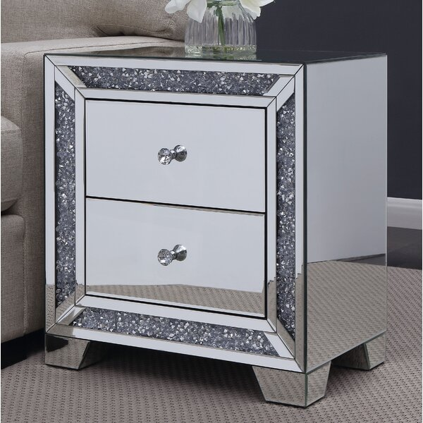 Marlow End Table By Everly Quinn